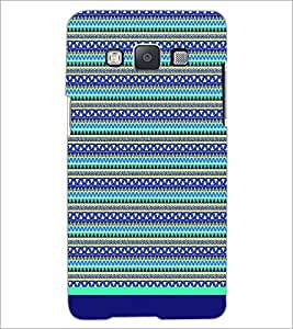 PrintDhaba Tribal Pattern D-1731 Back Case Cover for SAMSUNG GALAXY A5 (Multi-Coloured)