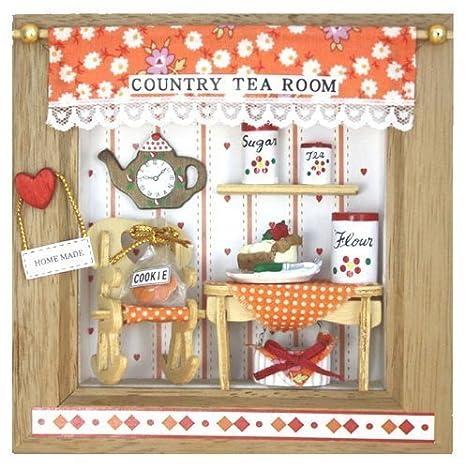 Billy handmade dollhouse kit frame kit Petit Country Tea Room 8543 (japan import) by Billy