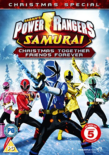 Power Rangers Samurai: Christmas Together, Friends Forever [DVD] [Edizione: Regno Unito]