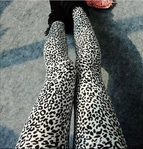 Check Out This ECOSCO Women Popular Full Leopard Print Animal Pattern Ankle Length Footless Legging ...