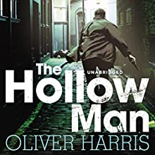 The Hollow Man (       UNABRIDGED) by Oliver Harris Narrated by Toby Longworth