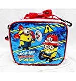 Despicable Me Insulated Lunch Bag - Danger! Minions At Work