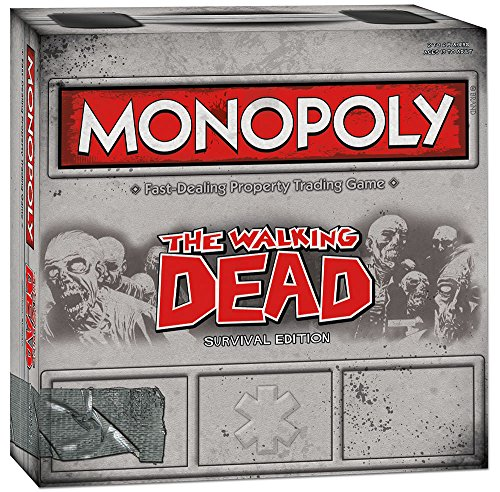 USAopoly APR132229 Monopoly Walking Survival