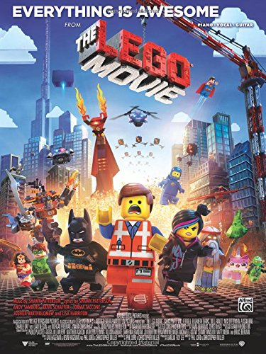 Everything Is Awesome (from The Lego Movie): Piano/Vocal/Guitar, Sheet (Original Sheet Music Edition) (Piano Movie Sheet Music compare prices)