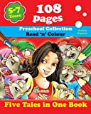 Tamara Fonteyn Five Tales in One Book: Read 'n' Color Your Fairy Tale - Preschool Collection - Coloring Picture Book for Beginner and Intermediate Readers (5-7 Years Old Kids): 3