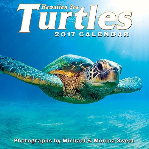 Hawaii 2017 Deluxe Wall Calendar - Hawaiian Sea Turtles by Michael & Monica Sweet