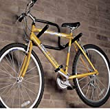 Wall Mounted Fixed Double Bike Rack, 30KG for 2 Bikes also Suitable for Ladders, Ladder , Garden Tools etc.