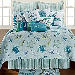 Imperial Coast Twin 3 Piece Quilt Set by C & F