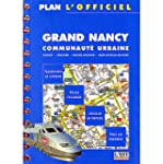 Plan de ville : Plan officiel de Nancy
