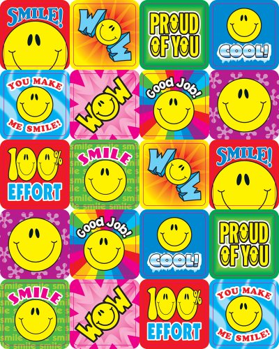 Smile Fun Motivational Stickers 120 stickers