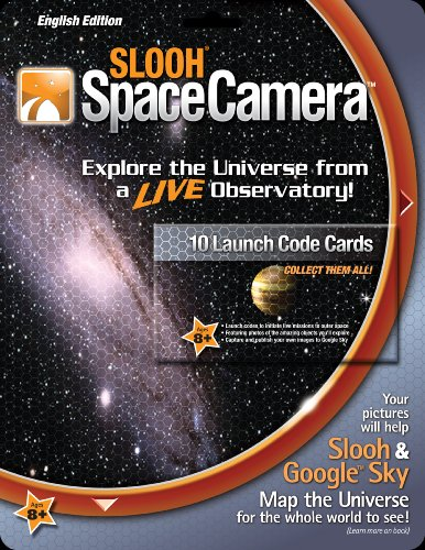 Slooh SpaceCamera Launch Code Cards - 1