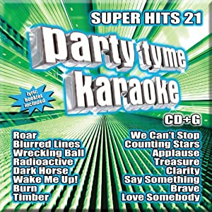 Party Tyme Karaoke: Super Hits 21 by Sybersound Records