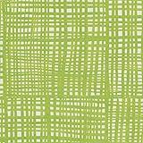 Entertaining with Caspari Raffine Paper Linen Dinner Napkins (12 Pack), Green