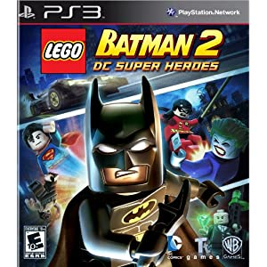 LEGO Batman 2 DC Super Heroes PS3 Video Game