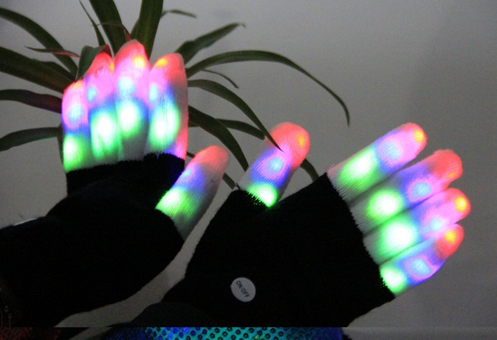 rave gloves for sale, rave gloves for lightshows