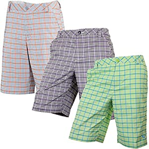 Puma Golf Men's Plaid Tech Shorts from Puma