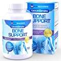 Bone Support - Calcium Supplement with Calcium Citrate & Hydroxyapatite 1000mg + Magnesium, K2, Vitamin D3 & more, 180 Tablets by Pure Micronutrients