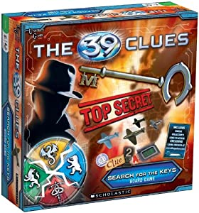 39 Clues Search for the Keys Game By University Games