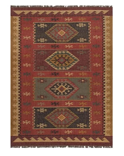 Jaipur Rugs Flat-Weave Tribal Pattern Jute Area Rug