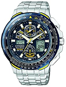Citizen Men's JY0040-59L Eco-Drive Blue Angels Skyhawk A-T Watch