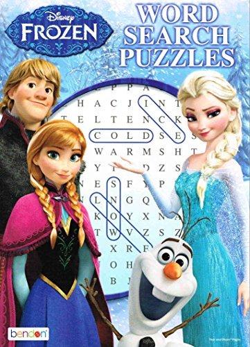 Disney Frozen Puzzle Book 96 pg [2 Piece(s) Pack] - 10935FS - 1