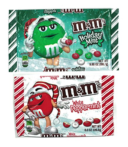 mms-white-peppermint-and-holiday-mint-chocolate-candies-bundle-1-8oz-bag-white-peppermint-and-1-99oz