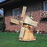 ProMex 326/4 Windmühle Holland 65x54x110 cm aus Kiefernh