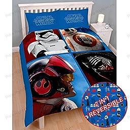 Star Wars Episode VII Divider Double/US Full Duvet Cover and Pillowcase Set