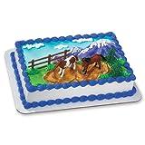 DecoPac Horses DecoSet Cake Topper