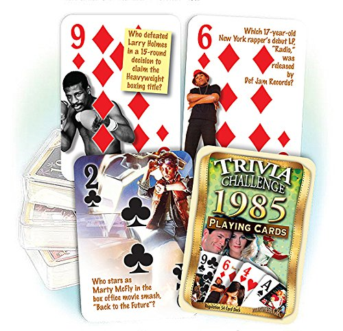 1985-Trivia-Playing-Cards-31st-Birthday-Gift-or-31st-Anniversary