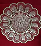 Indiana Glass clear Hobnail Deviled Egg Plate