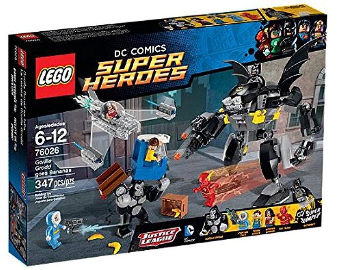[해외] 레고 (LEGO) 슈퍼히어로즈 고릴라구롯도대 아 들키 76026-76026 (2015-01-16)