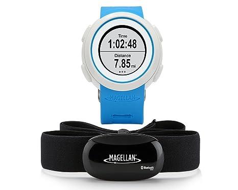Magellan Echo bleu RH fréquence cardiaque