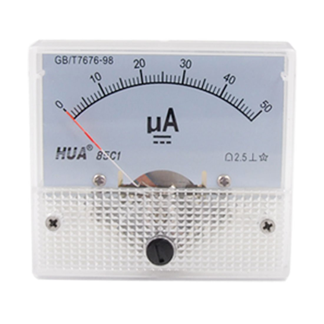Class 2.5 Accuracy DC 0-50uA Analog Panel Meter Ammeter katalog water meter amico