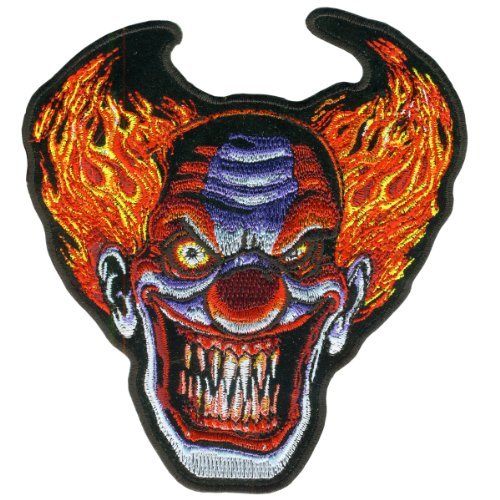 Hot Leathers Angry Clown Patch (5