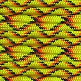 Paracord Planet Nylon 550lb Type III 7 Strand Paracord Made in the U.S.A. -Explode -