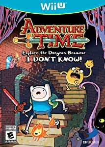 Adventure Time: Explore the Dungeon Because I DON'T KNOW! WiiU