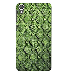 HTC DESIRE 820 SQUARE PATTERN Designer Back Cover Case By PRINTSWAG