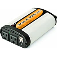 Wagan SmartAC 400 Watt Continuous Power Inverter with 5V 2.1 Amp USB Charging Ports