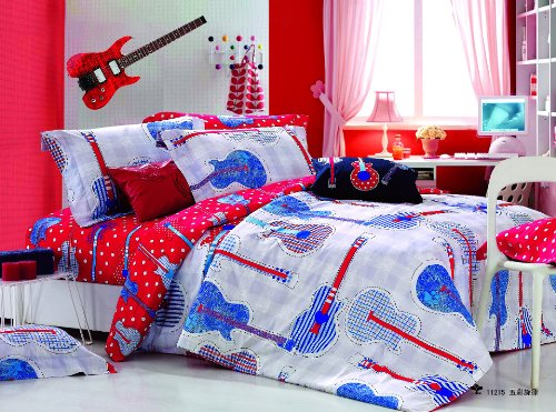 Guitar Bedding Totally Kids Totally Bedrooms Kids