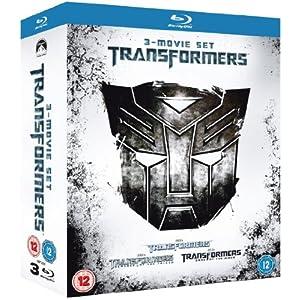 6109mqtHKuL. AA300  [Amazon UK] Transformers 1 3 Box Set [Blu ray] für nur 36€ (Vergleich: 65€)