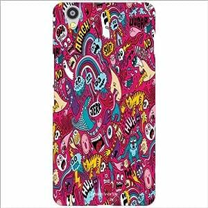 Design Worlds - Oneplus X Designer Back Cover Case - Multicolor Phone Cover