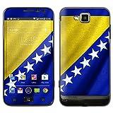 """atFoliX Designfolie """"Bosnien Flagge"""" f�r Samsung Ativ S (GT-I8750) - ohne Displayschutzfolievon """"Designfolien@FoliX"""""""