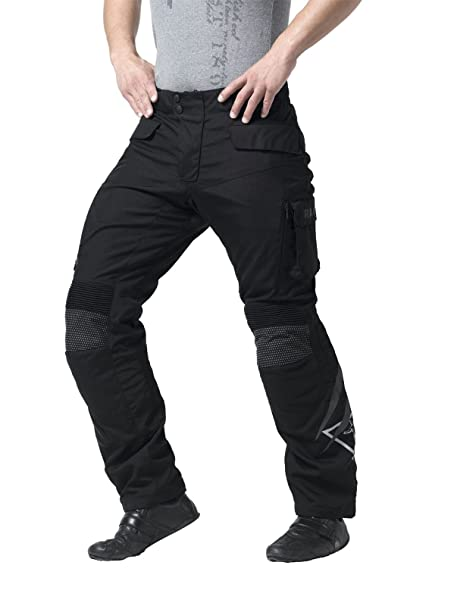 Racer Vero 1502 Men's Short Pantalon de moto en Textile Noir