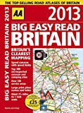 AA Publishing AA Big Easy Read Britain 2013 (Road Atlas)