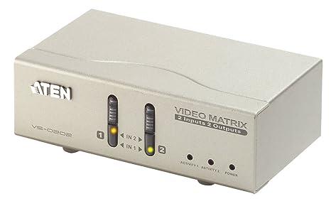 Aten Matrix Switch & Audio 2/2, VS0202