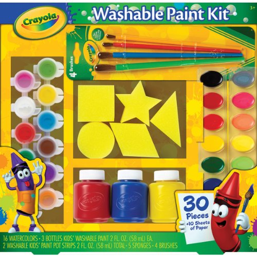 Crayola Washable Paint Kit - 1