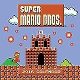 Super Mario Brothers 2016 Wall Calendar (Abrams Calendars)