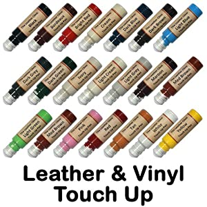 Leather Amp Vinyl Touch Up Scratch Repair Paint Dye Pen