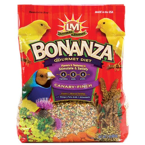 Cheap LM Animal Farms Bonanza Gourmet Canary & Finch Food (B003ALU8LC)
